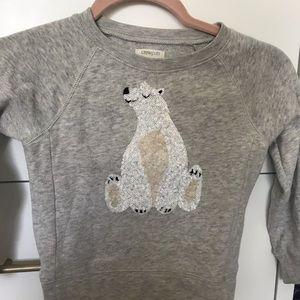 Other - Crew cuts polar bear sweatshirt